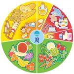 nueva rueda de los alimentos